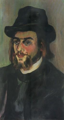 Erik Satie par Suzanne Valadon