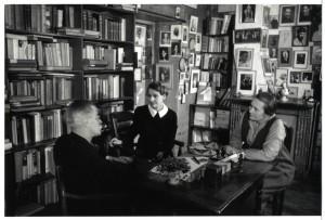 Joyce, Beach, Monnier, Maison des amis des lettres par Gisele Freund