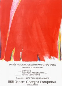Affiche Pompidou