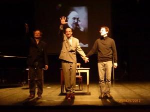 Benoît Richter, Olivier Salon et Martin Granger.
